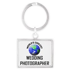 WEDDING-PHOTOGRAPHER65 Landscape Keychain
