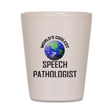 SPEECH-PATHOLOGIST73 Shot Glass