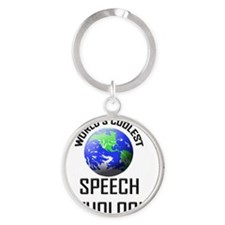 SPEECH-PATHOLOGIST73 Round Keychain