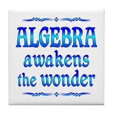 Algebra Awakens Tile Coaster