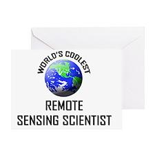 REMOTE-SENSING-SCIEN138 Greeting Card
