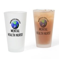 MENTAL-HEALTH-NURSE77 Drinking Glass