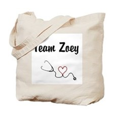 Team Zoey Tote Bag