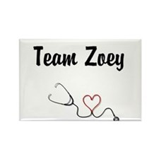 Team Zoey Rectangle Magnet