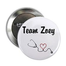 "Team Zoey 2.25"" Button"