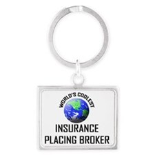 INSURANCE-PLACING-BR121 Landscape Keychain