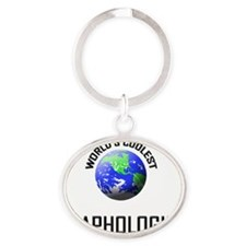 GRAPHOLOGIST20 Oval Keychain