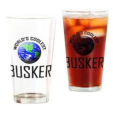 BUSKER5 Drinking Glass