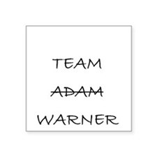 Team Adam Warner Sticker