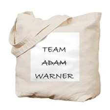 Team Adam Warner Tote Bag