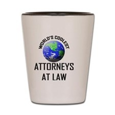 ATTORNEYS-AT-LAW129 Shot Glass