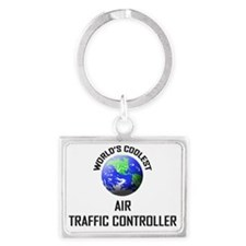 AIR-TRAFFIC-CONTROLL63 Landscape Keychain