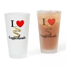 Copperheads97106 Drinking Glass