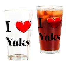 Yaks86 Drinking Glass
