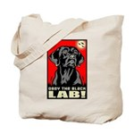 Obey the Black LAB! 06 Propaganda Tote Bag