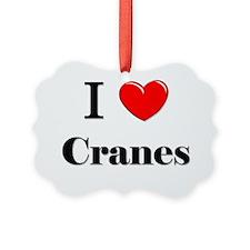 Cranes29 Ornament