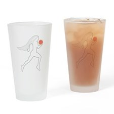 Runner Bride Drinking Glass