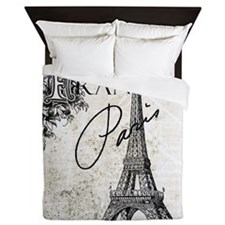 Heather Myers BELLA FIORE Paris France Queen Duvet