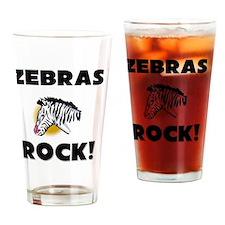 ZEBRAS1371 Drinking Glass