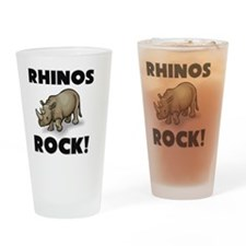 RHINOS10596 Drinking Glass