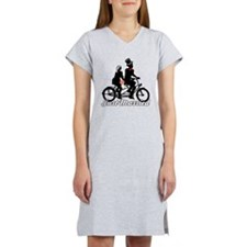 Just Married Cyclists Women's Nightshirt