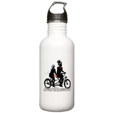 Just Married Cyclists Water Bottle