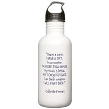 I Will Fight Back Water Bottle