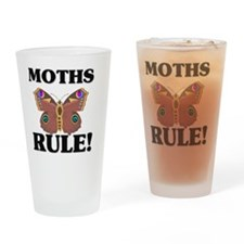 MOTHS0166 Drinking Glass