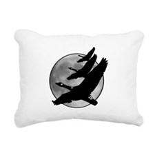 Canadian Geese Rectangular Canvas Pillow