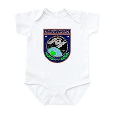 ISS Program Logo Infant Bodysuit