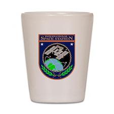 ISS Program Logo Shot Glass