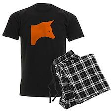 Orange Fox pajamas