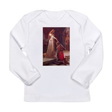Knight and His Queen Victorian art Long Sleeve T-S