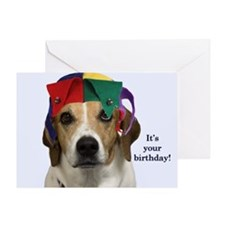 Beagle Birthday Card Greeting Card