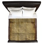 The Declaration of Independence King Duvet