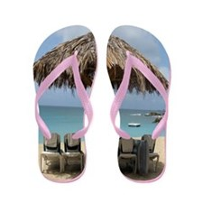 Dream Vacation Flip Flops