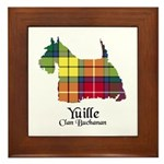 Terrier - Yuille Framed Tile