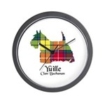Terrier - Yuille Wall Clock