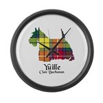 Terrier - Yuille Large Wall Clock