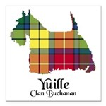 Terrier - Yuille Square Car Magnet 3
