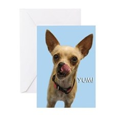 Chihuahua Yum Birthday Card