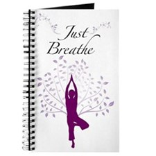 Just Breathe Wall Art Journal