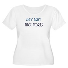 Nice Torts Plus Size T-Shirt
