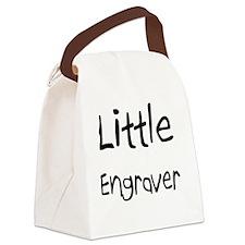 Engraver108 Canvas Lunch Bag