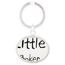 Baker95 Oval Keychain