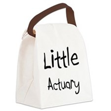 Actuary93 Canvas Lunch Bag
