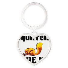 Squirrels4550 Heart Keychain