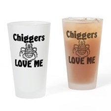 Chiggers32336 Drinking Glass