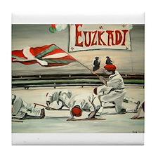 Basque Euzkadi Tile Coaster