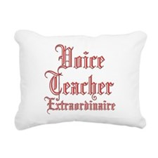 Extraordinaire...Voice Rectangular Canvas Pillow